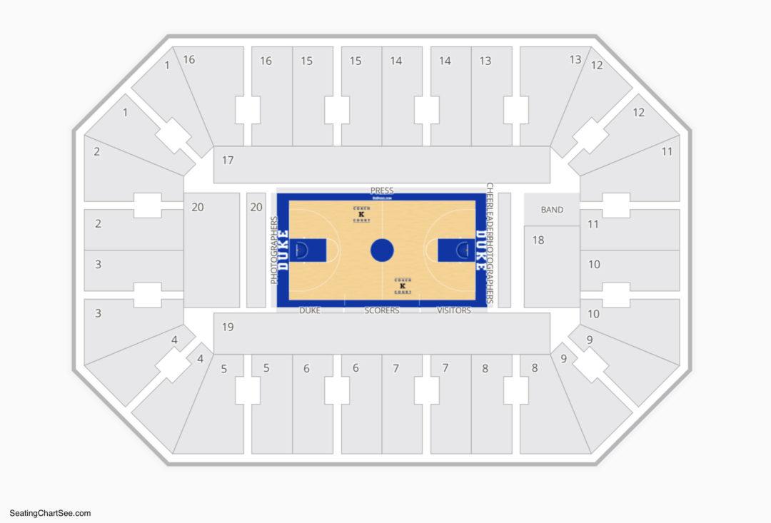 cameron indoor stadium seating chart